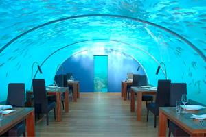 СПА-центр под водой на Мальдивах