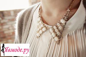 Модные накладные воротники - фото на Явмоде.ру