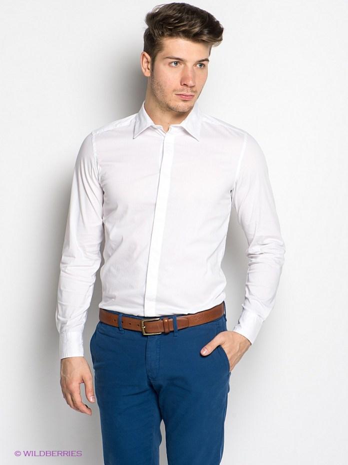 Приталенная мужская рубашка – фото новинки сезона