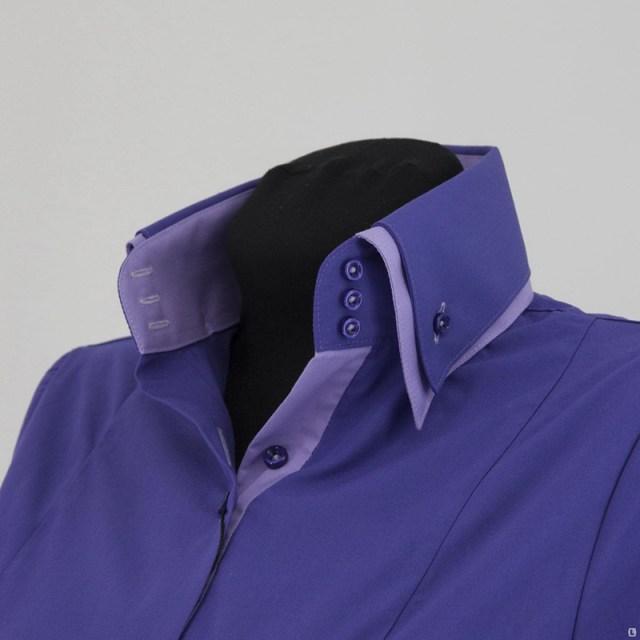 Фото новинка: мужские рубашки с двойным воротником