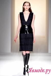 Calvin Klein осень-зима 2013-2014 - принт в клетку