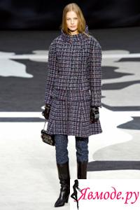 Модное пальто осень-зима 2013-2014 - Chanel