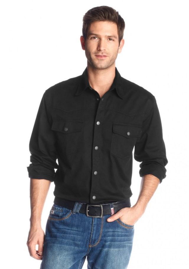 Фото новинка сезона: с чем носить мужские джинсовые рубашки