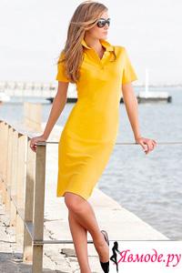 Платье поло - с чем и как носить - фото платьев на Явмоде.ру