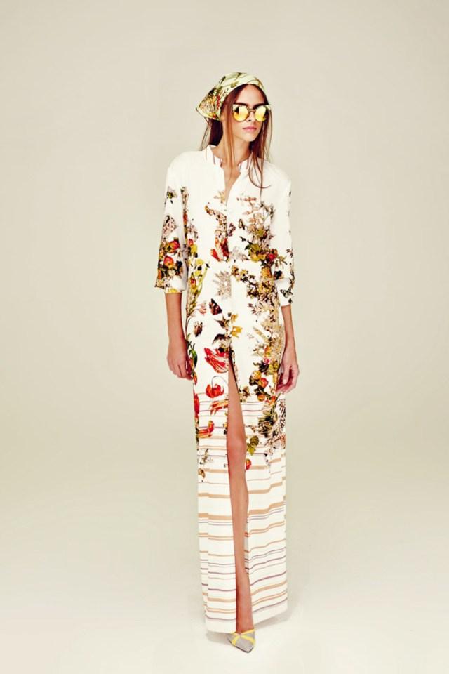 Модное длинное платье — фото новинка от A LA RUSSE Anastasia Romantsova