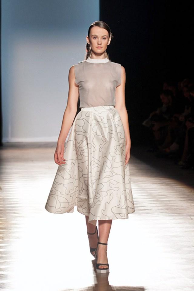 Пышная длинная юбка Ksenia Schnaider