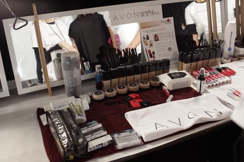 Avon и Nicholas K  на Неделе Моды в Нью-Йорке