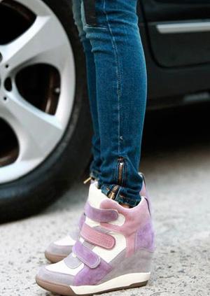 Сникерсы - модная обувь 2014