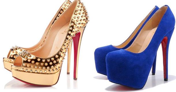 Женские туфли на высоких каблуках и туфли на шпильках, туфли на танкетке