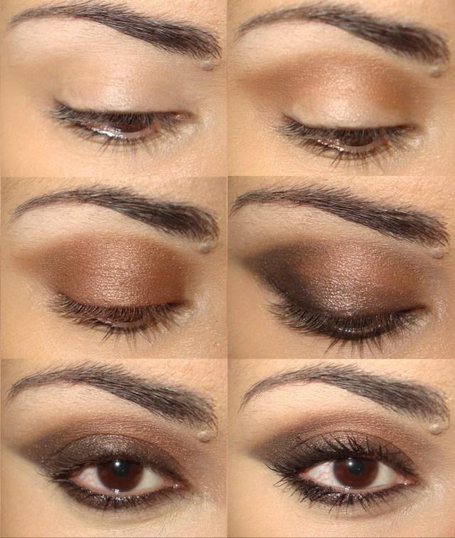 Коричневые тени для глаз – в моде естественность