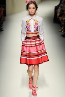 Модные рубашки 2014 - Alberta Ferretti
