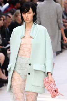 Burberry кружево - мода 2014