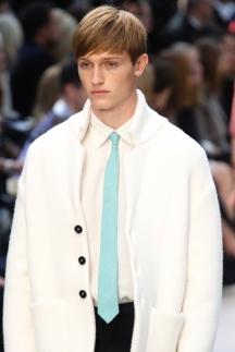 Тонкий галстук мужская мода Burberry