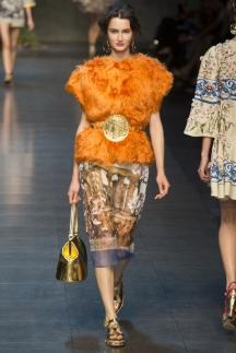 Меховой жилет Dolce_&_Gabbana