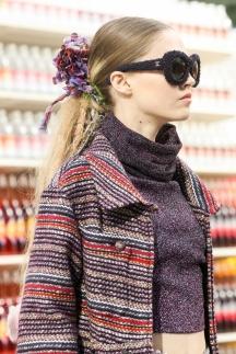 Фото модной прически 2015 хвост – Chanel