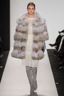 Разноцветная модная шуба осень-зима 2014-2015 - Dennis Basso