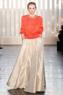 Длинная пышная юбка осень-зима 2014-2015 - Jenny Packham