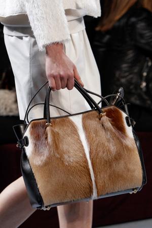 Модная меховая сумка осень-зима 2014-2015 – Nina Ricci