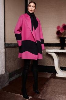 Разноцветное модное пальто осень-зима 2014 -2015 - Agnona