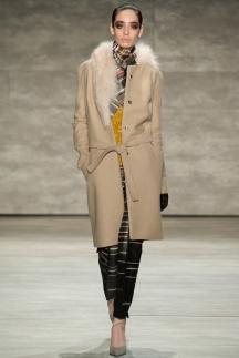 Модное пальто с мехом – мода осень-зима 2014-2015 – Bibhu Mohapatra
