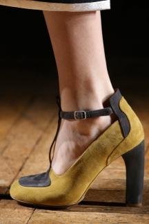 Модные туфли осень-зима 2014-2015 с ремешками – Dries Van Noten