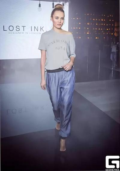 В Москве состоялся показ нового английского бренда Lost Ink