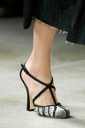 Модные туфли весна лето 2015 – Bottega Veneta