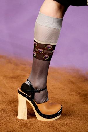 На фото: модные туфли весна лето 2015 – Prada