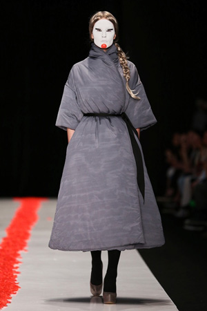Mercedes-Benz Fashion Week Russia, DIMANEU, коллекция «Юка»