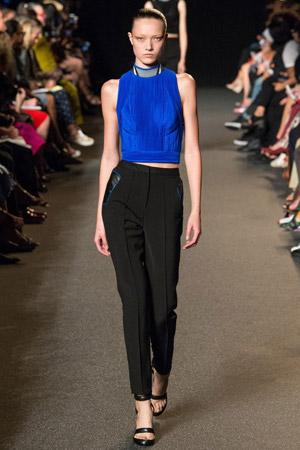Модные укороченные брюки со стрелками весна лето 2015 – Alexander Wang