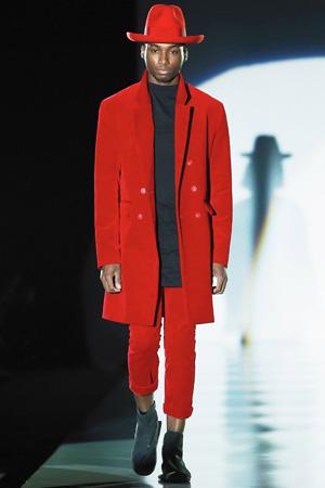 Красный мужской костюм мода 2015 - Pirosmani