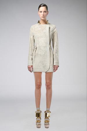 Бежевая модная куртка 2015 Agnona