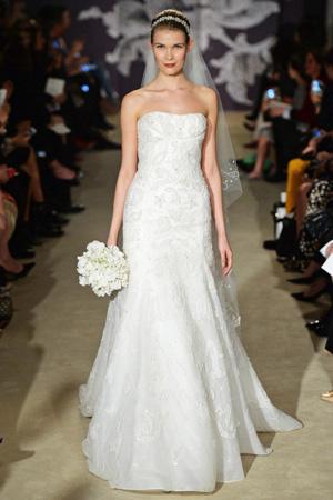 Свадебная мода весна лето 2015 – Каролина Херрера 2015