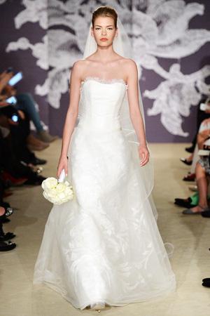 Свадебная коллекция весна лето 2015 Carolina Herrera