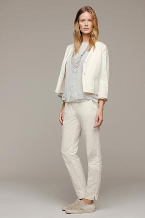 Короткий модный пиджак весна лето 2015 - Fabiana Filippi