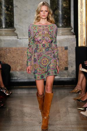 Красивое летнее платье 2015 фото Emilio Pucci