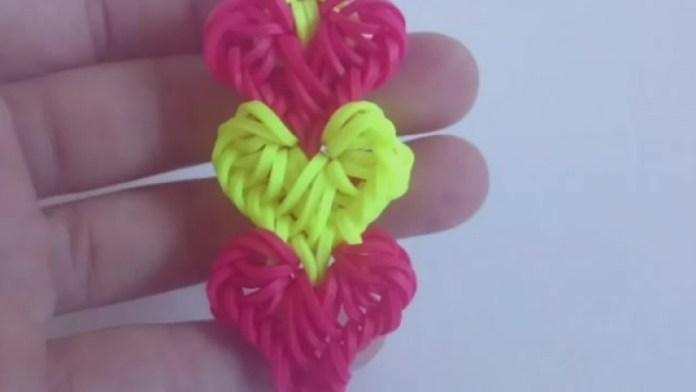 Самые красивые браслеты Переплетение сердец