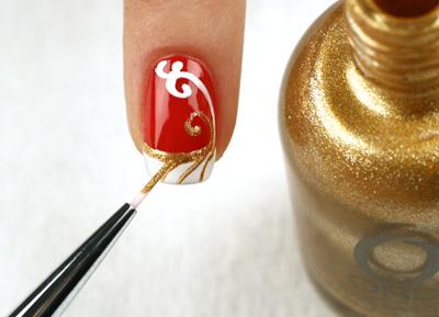 Мастер-класс дизайна для ногтей «Стильный френч»