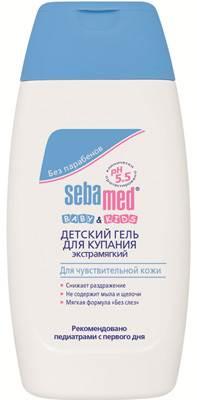 Детский гель для купания SEBAMED, экстрамягкий для чувствительной кожи, 200 мл
