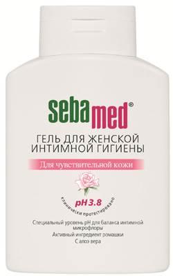 Гель для женской интимной гигиены SEBAMED с алоэ вера для чувствительной кожи, 200 мл