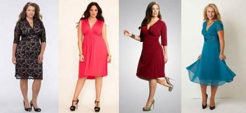 Какая одежда стойнит, какая одежда подходит для полных женщин