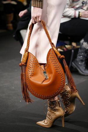 Модная сумка осень зима 2015 2016 оранжевого цвет – фото новинки Altuzarra