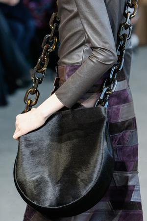 Модная сумка круглой формы с длинной ручкой через плечо – осень-зима 2015-2016 фото – Calvin Klein