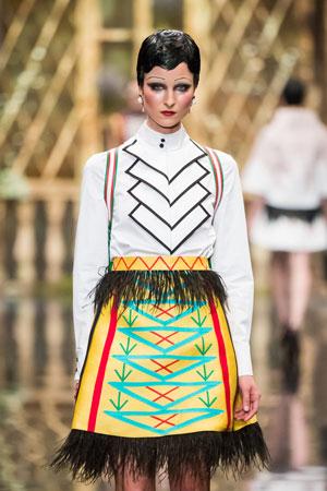 Фото модного макияжа осень-зима 2015-2016 - Alexander Arutyunov