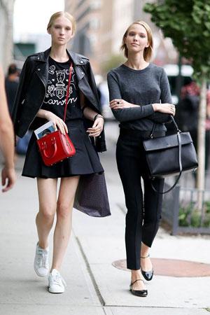 Черная юбка фото – с чем носить черную юбку