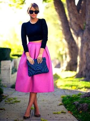 Фото юбки в складку