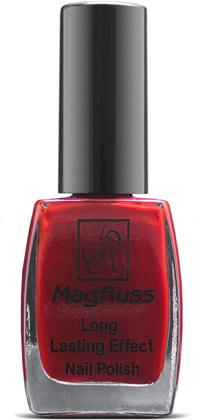 Новинки лаков для ногтей MagRuss - красный лак для ногтей