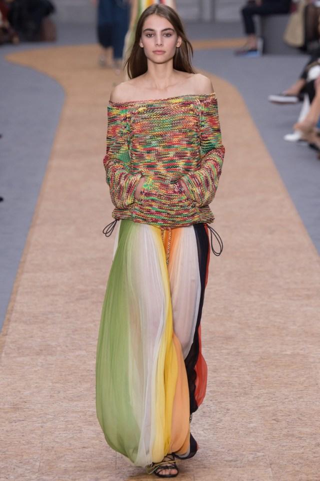Chloe весна-лето 2016 – неделя моды в Париже 2016