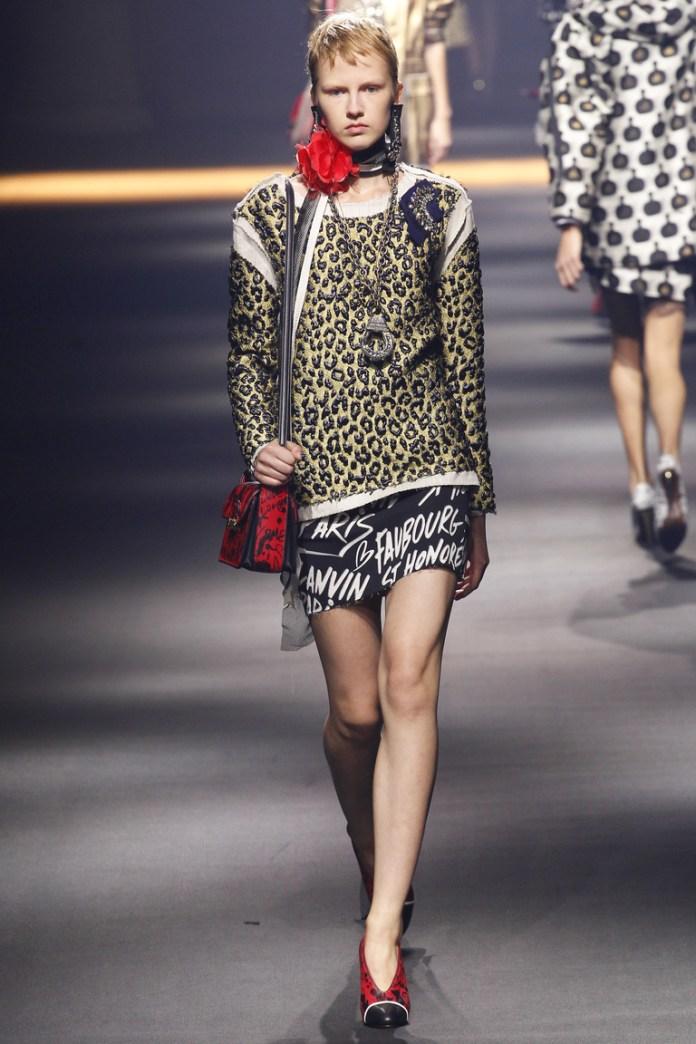 Lanvin весна-лето 2016 - неделя моды в Париже 2016