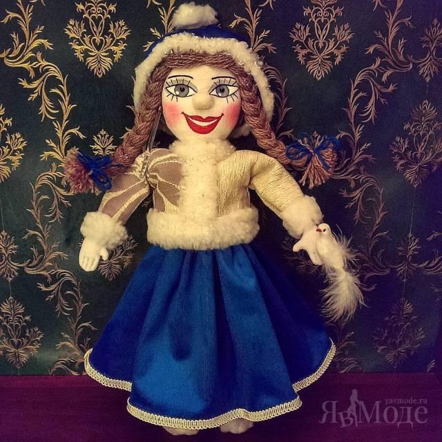 Авторская кукла ручной работы Валентины Батуриной